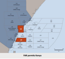 Kenya's Block L6 farmout pushed further to late2015