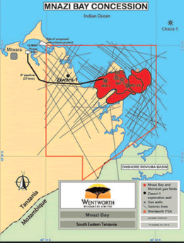 2D seismic on Tanzania's Mnazi Bay Concession set to be complete in Q3