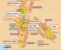 Tullow, Africa Oil to drill up to 6 basin openers in Northern Kenya in2015